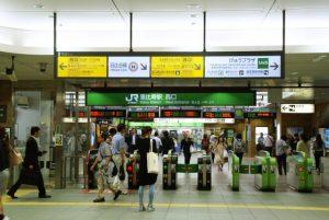 恵比寿駅改札口